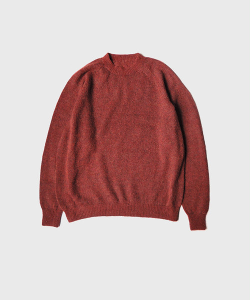 crepuscule exclusive mohair knit BRICK