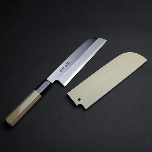 【IKA002-18039】白鋼菜切り18cm-WHITE STEEL 180mm [NAKIRI]