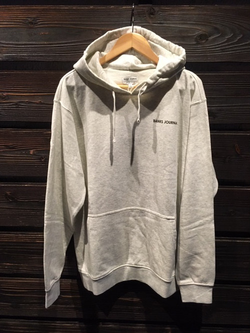 Banks Journal LABEL FLEECE AFL0264 O.White Heather XLサイズ