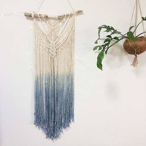Macrame wallhanging -  bohemian beach series 004 -