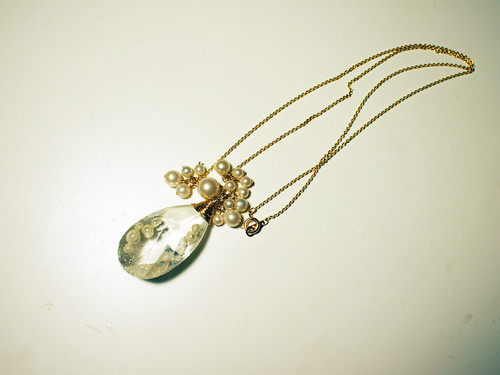 crystal necklace A