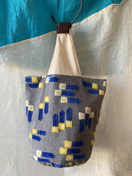 【bucket bag】wish/グレー/original design