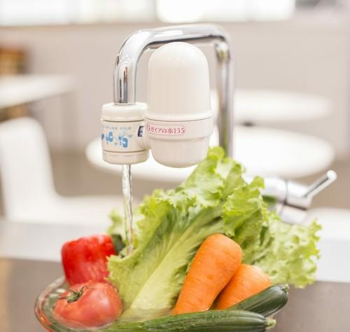 取付簡単!いつもの蛇口から美味しいお水が!蛇口型浄水器《送料無料》