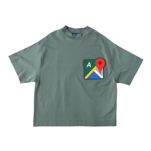 MAP T-SHIRTS / GREEN