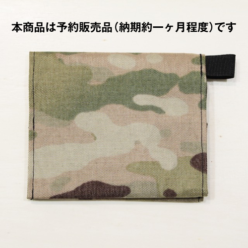 ★予約販売:決済から約一ヶ月で出荷★ Beautiful money Wallet X-Pac CAMO/model.Sugiyama