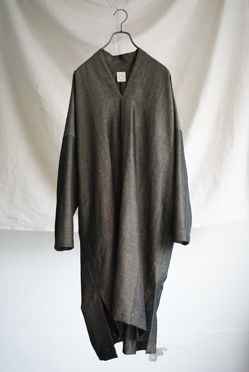 JAN JAN VAN ESSCHE - KNEE LENGTH, LOOSE FIT TUNIC WITH SIDE SPLITS
