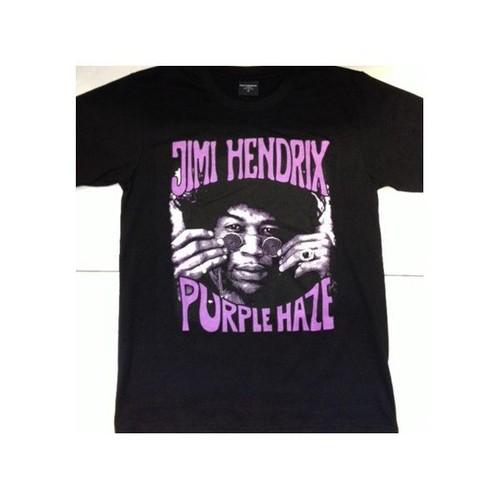 ジミ・ヘンドリックス Jimi Hendrix パープル・ヘイズ/Purple Haze プリントTシャツ