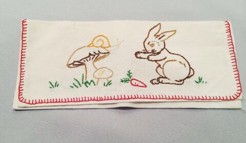 Violet And Claire - fabric case - rabbit