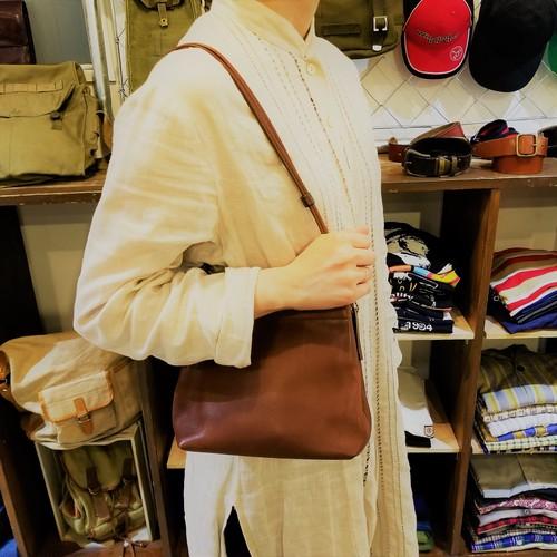 Old COACH mini shoulder bag / Made in USA [B-210]
