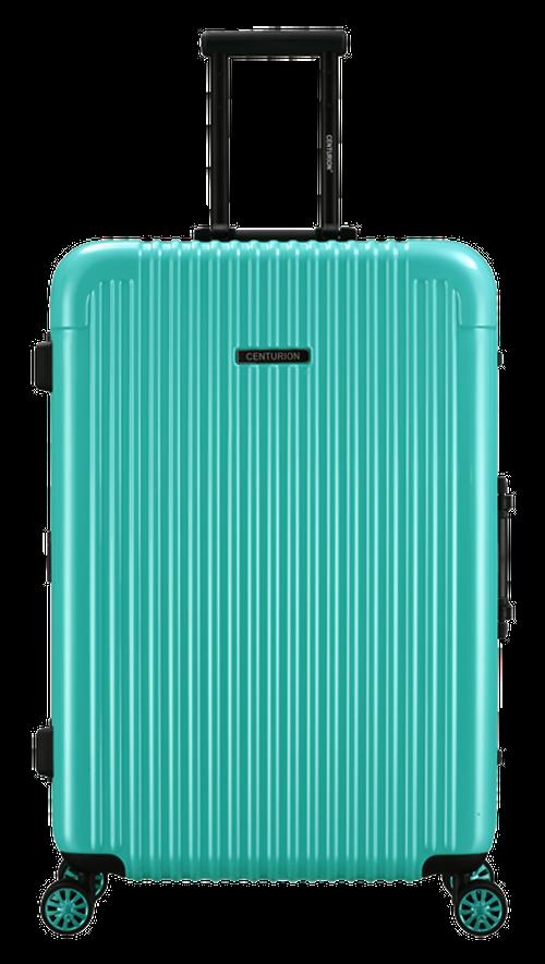 Lサイズ☆ティファニーブルーtfn・90リットル:超丈夫!最軽量アルミスーツケース