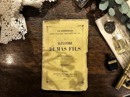 【PV163】ALEXANDRE DUMAS FILS / display book