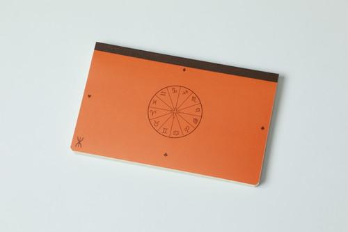 新しい「超」結果手帳《プレミアム版》オレンジ