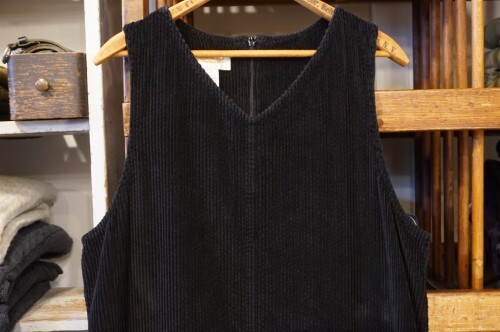 90's Talbots Black corduroy jumper Dress