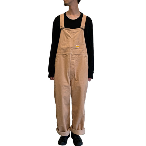 PAYDAYxWEST'S CORDUROY OVERALL 【WESTOVERALLS】