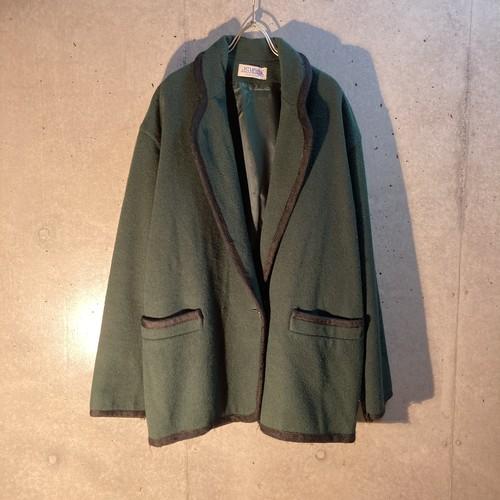 Dark Green Wool Jacket