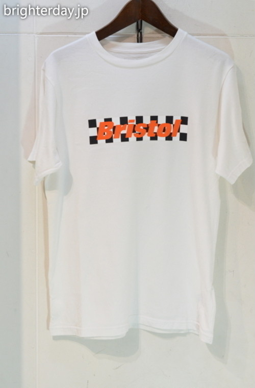 FCRB CHECKER BOX LOGO TEE