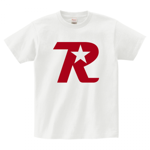 R-logo / Tシャツ(Red/White)【送料無料】【Shop限定】
