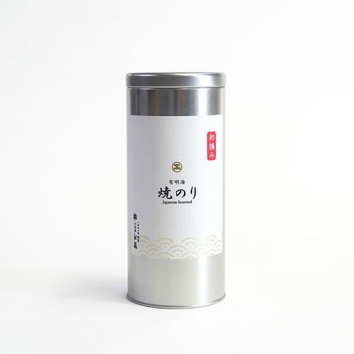 缶入 初摘み焼のり 8切144枚 有明海産 焼海苔