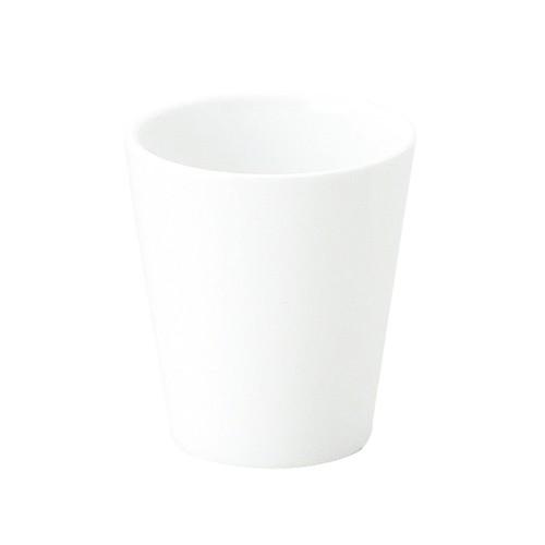 【1958-0000】強化磁器 ミニカップ(Φ5cm×H5.5cm/満水150ml) カップ 白無地