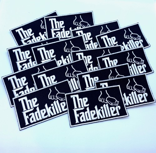 The Fadekiller ワッペン ブラック