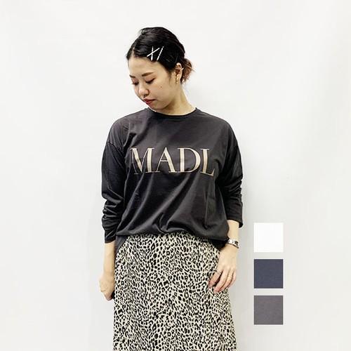 "MICA&DEAL(マイカアンドディール)""MADL"" ロングTシャツ 2020秋物新作[送料無料]"