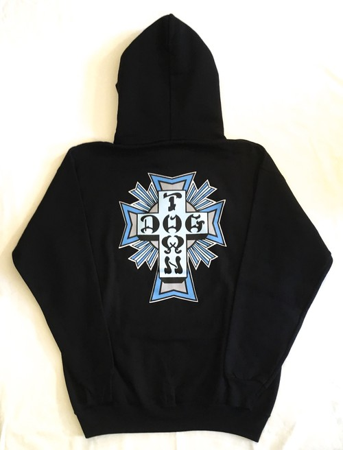 "DOGTOWN ""CROSS LOGO"" SWEAT HOODIE <Deadstock>"