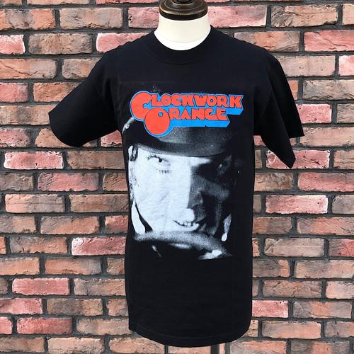 1990s Clockwork Orange Alex T-Shirt Black