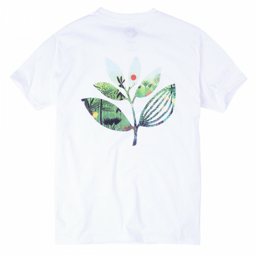 MAGENTA JUNGLE II TEE WHITE マゼンタ Tシャツ
