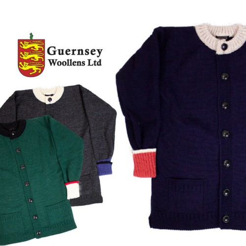 GUERNSEY Cardigan 【OR GLORY】