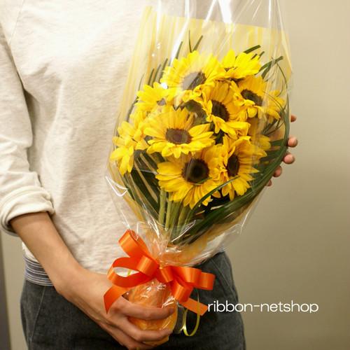 【父の日】【送料無料】ひまわりの花束 FL-FD-903