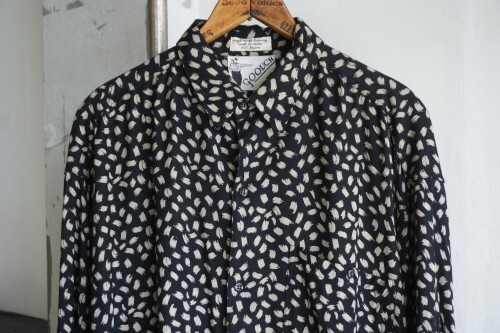 80's GOOUCH rayon Shirt