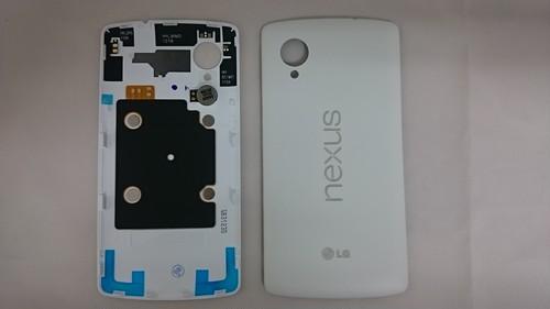 LG Nexus 5 修理・交換用 背面カバー 各色