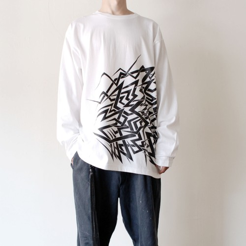 ZOMU Long Sleeve Tee W/B