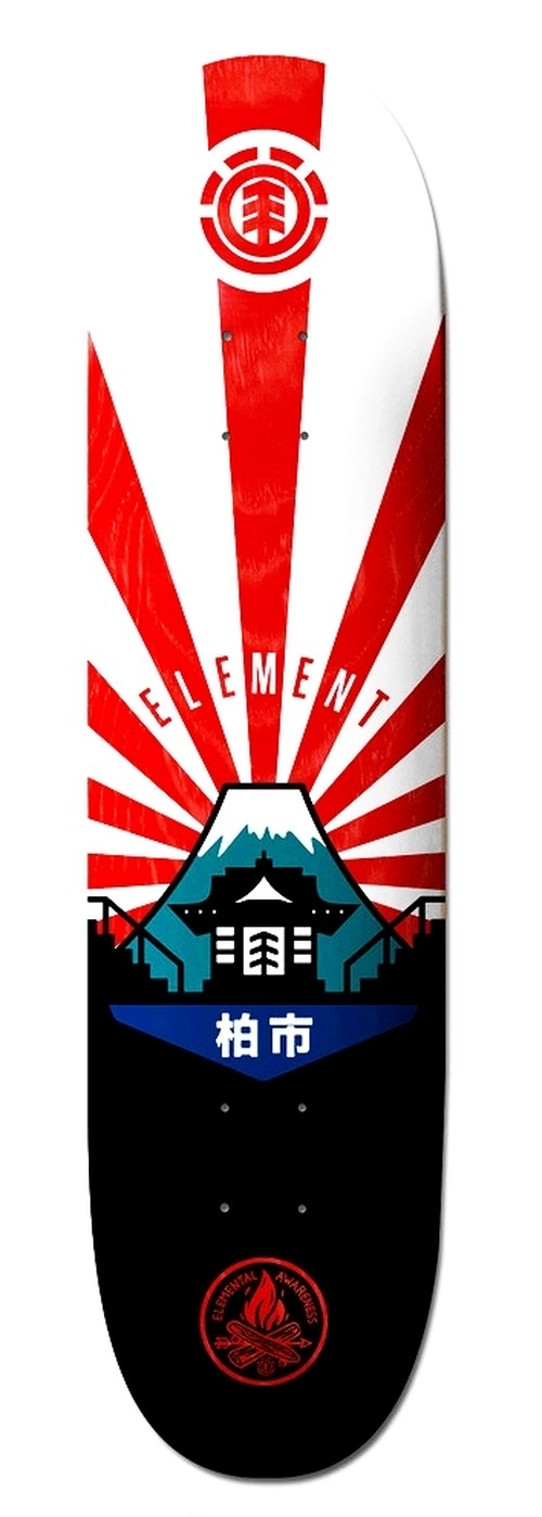 ELEMENT KASHIWA DECK  7.75