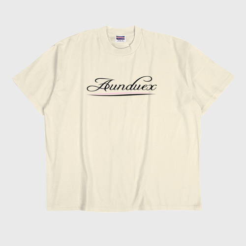 【Aunduex X G.O.A.T】 Logo Tシャツ
