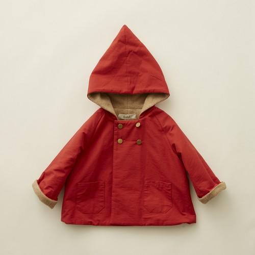 《eLfinFolk 2020AW》elf coat / red / 90-100cm