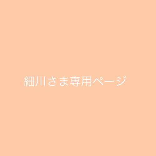 細川さま専用ページ