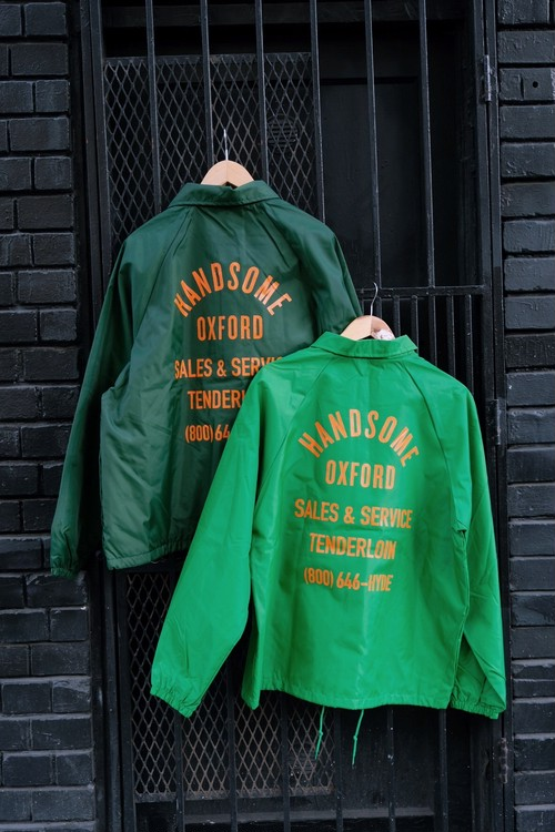"Handsom Oxford ""Vintage Coach Jacket"""
