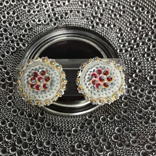 emiumigumi お昼の花 earring1