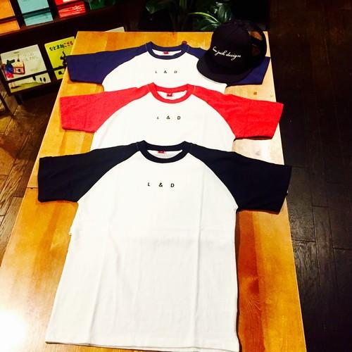 【woman s】オリジナル ラグランTシャツ
