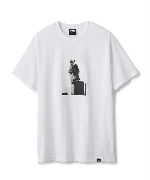 FTC / MONKEY TEE -WHITE-