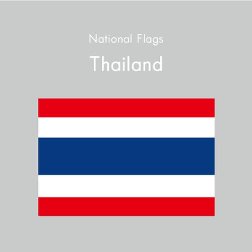 国旗ステッカー タイ