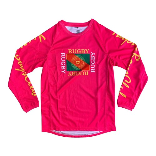 【YBC】Flaglogo Long Sleeve Tee Pink