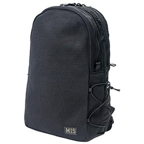 MIS-1016 MESH BACKPACK - BLACK