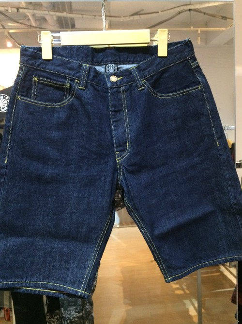 "ANDSUNS(アンドサンズ) ""RUCKS DENIM SHORT"" [OneWash]"
