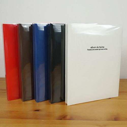 布クロスアルバム de favine【ドゥファビネ】 フエルアルバム 台紙20枚 A4サイズ IT-A4D-161/20L