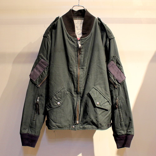 80s CANADIAN AIR FORCE FLIGHT JACKET / UT2175