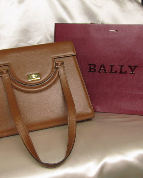 BALLY バリー レザーバッグ ブラウン f265991515
