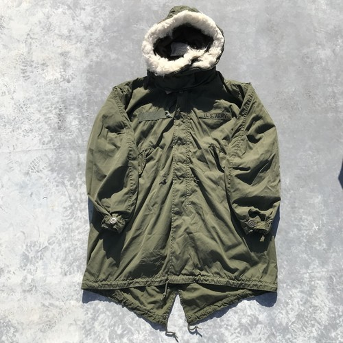 70's PARKA  EXTREME COLD WEATHER モッズコート M65 フルセット アクリルファー ミリタリー SMALL REGULAR 希少 ヴィンテージ