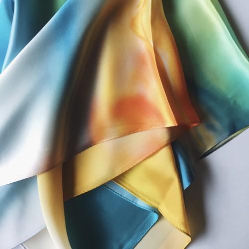 La スカーフ imitate 90cm